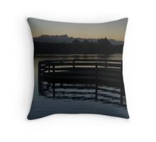 LILYDALE LAKE 4 Throw Pillow
