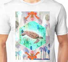 Turtle fly Unisex T-Shirt