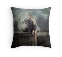 The unbreakable tie Throw Pillow