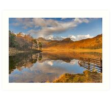 Blea Tarn Lake District Art Print