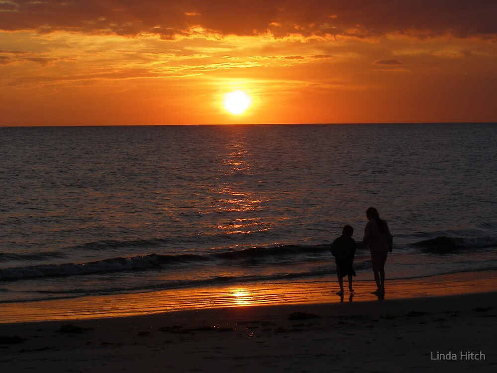 Watching the Sunset by Linda Hitch