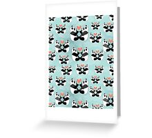 panda lovers Greeting Card