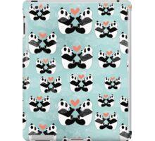 panda lovers iPad Case/Skin