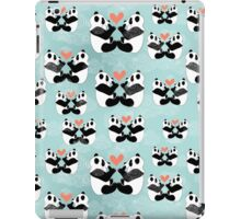 panda lovers iPad Case/Skin