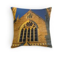 Looking up in faith Throw Pillow