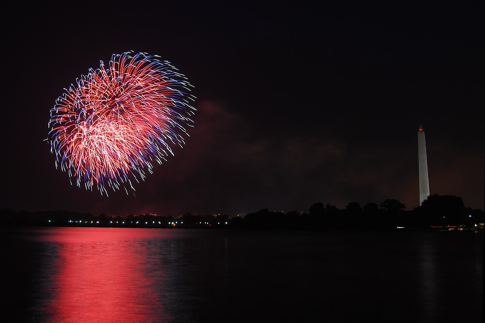 July 4th in Washington, D.C. by cruffo