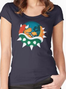 BrOWSER Women's Fitted Scoop T-Shirt