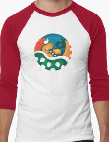 BrOWSER Men's Baseball ¾ T-Shirt