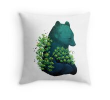 Nature's Embrace Throw Pillow
