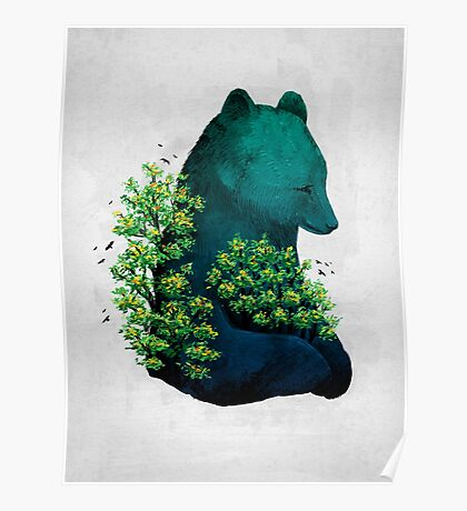 Nature's Embrace Poster