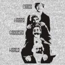 Communist Marx Brothers - Light background by Buddhuu