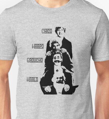 Communist Marx Brothers - Light background Unisex T-Shirt