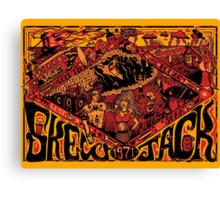 Skewjack World Canvas Print