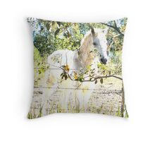 Equine dreams Throw Pillow