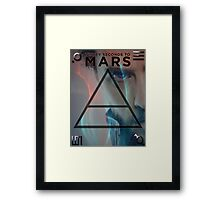 30 Seconds To Mars Poster Framed Print