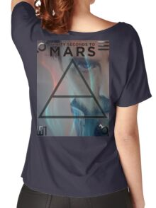30 Seconds To Mars Poster Women's Relaxed Fit T-Shirt