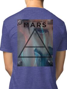 30 Seconds To Mars Poster Tri-blend T-Shirt