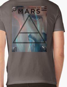 30 Seconds To Mars Poster Mens V-Neck T-Shirt