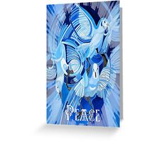 Celtic Peace Dove Greeting Card Greeting Card