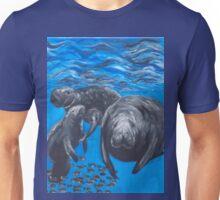 Manatee Family Unisex T-Shirt