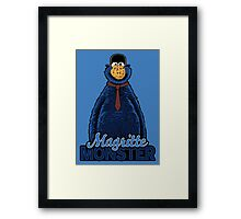 Magritte Monster Framed Print