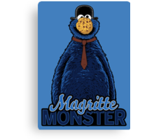 Magritte Monster Canvas Print