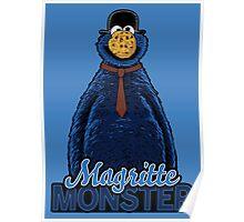 Magritte Monster Poster