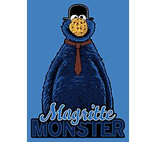 Magritte Monster Photographic Print