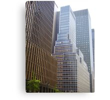 NYC Streetscape Metal Print