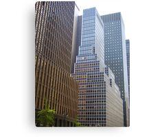 NYC Streetscape Canvas Print