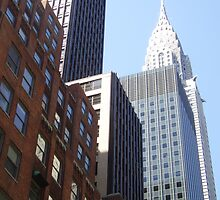 NYC Cityscape by Eleni Verigos