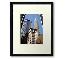 New York Streetscape Framed Print
