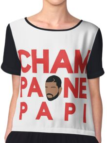 Champagne Papi - Drake Chiffon Top