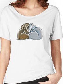 Italian Greyhound Huddle Women's Relaxed Fit T-Shirt