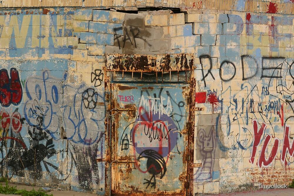 Detroit Grafitti by timpollock
