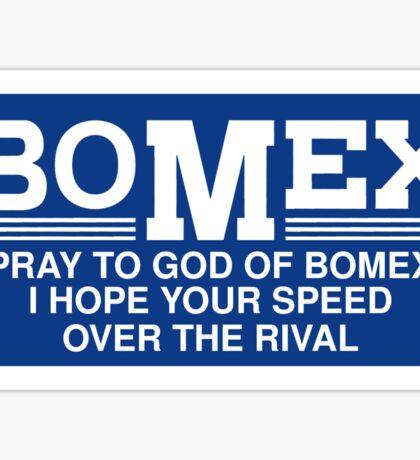 Bomex Vintage Decal Slap Sticker