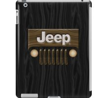 Jeep Willys ~ Wood [Black] iPad Case/Skin