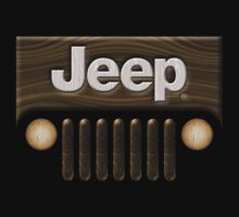 Jeep Willys ~ Wood [Black] Kids Clothes
