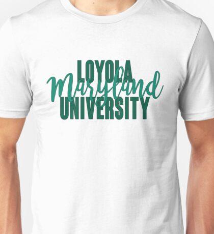 Loyola University Maryland Unisex T-Shirt