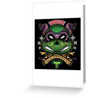 Dia De Los Mutantes Donnie Greeting Card