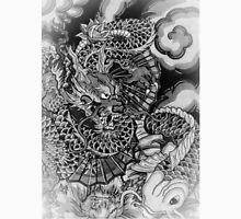 Japanese dragon and koi fish wonderland Unisex T-Shirt