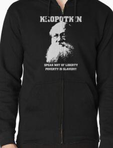 Kropotkin - Poverty is Slavery T-Shirt