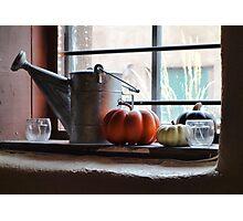 Adobe Window Autumn Still Life C1 Photographic Print