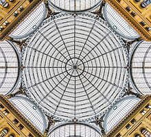 Naples - Dome Inside a Gallery by enolabrain