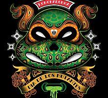 Dia De Los Mutantes Mikey by pinteezy