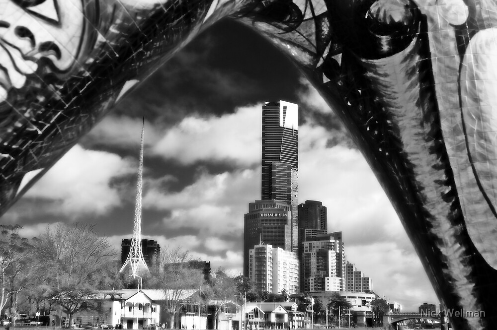 Angel of Melbourne by wellman