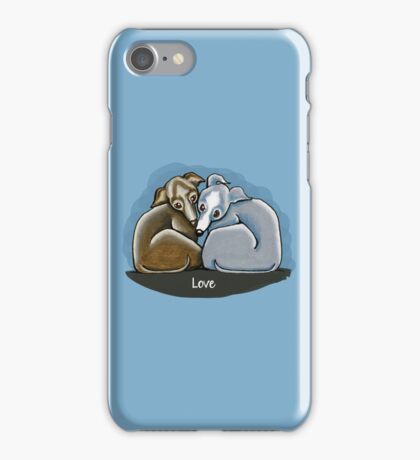 Italian Greyhound Huddle iPhone Case/Skin