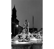 Navona square in Rome Photographic Print