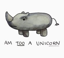 Am TOO a Unicorn T-Shirt