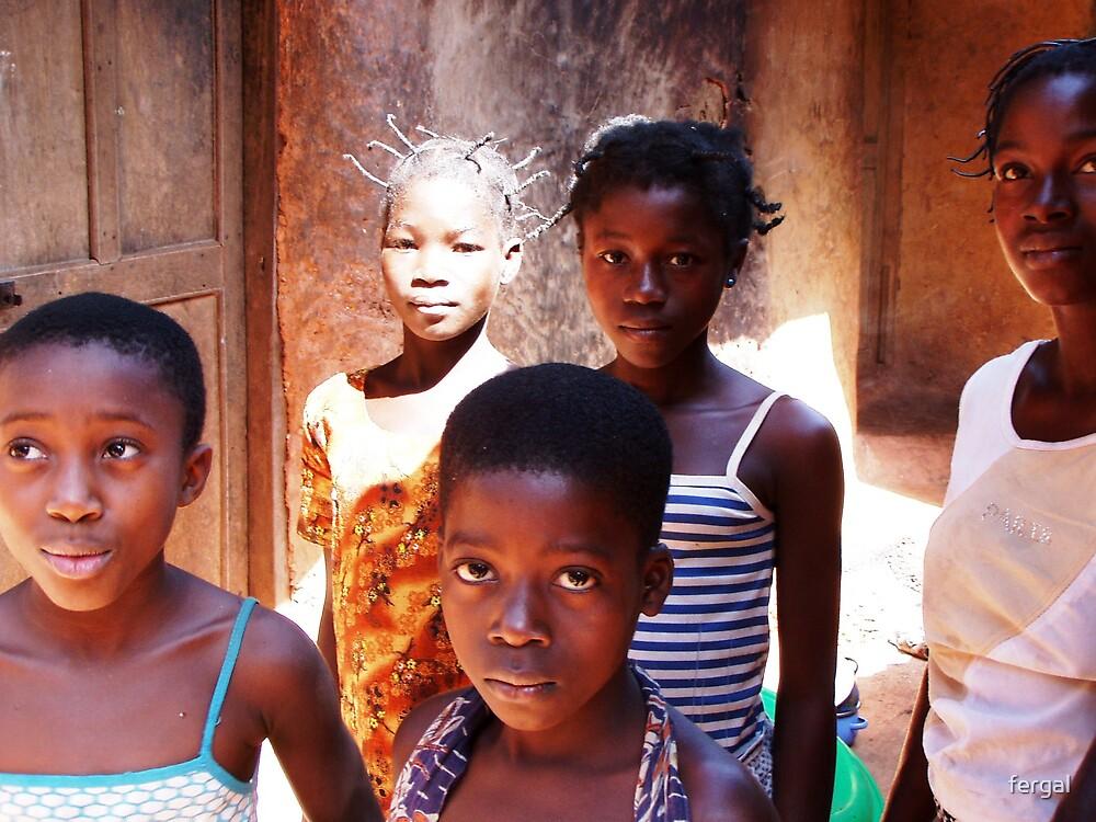 Children of Africa by fergal